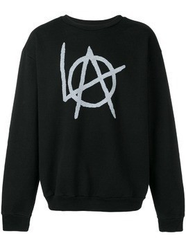 Local Authority logo print sweatshirt - Black