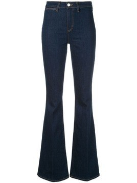 L'agence high-waisted flared jeans - Blue