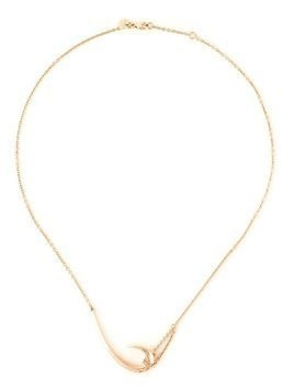Shaun Leane 'Signature Tusk' hook necklace - Metallic