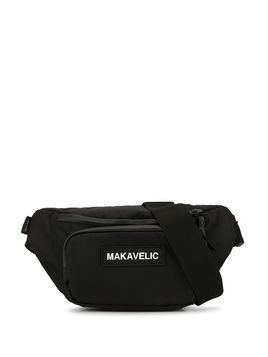 Makavelic crescent belt bag - Black