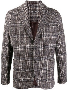 Circolo 1901 fitted single-breasted blazer - Brown