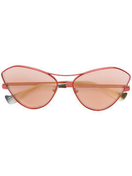 Grey Ant cat eye sunglasses - Red