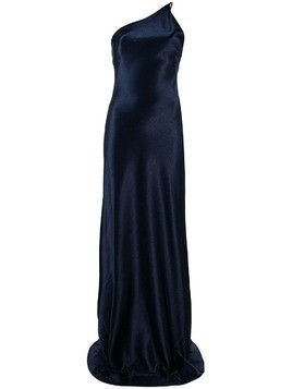 Galvan metallic evening dress - Blue