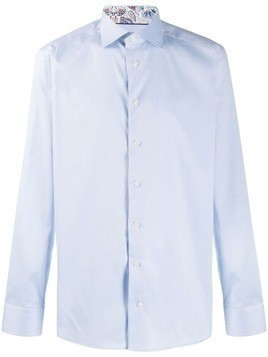 Eton long sleeve shirt - Blue