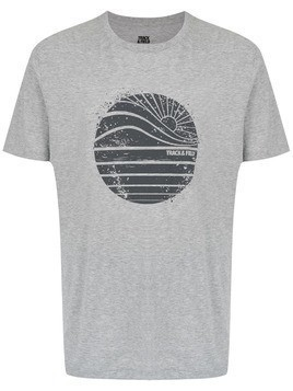 Track & Field printed Cool t-shirt - Grey