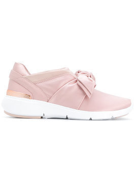Michael Michael Kors bow detail sneakers - Pink & Purple