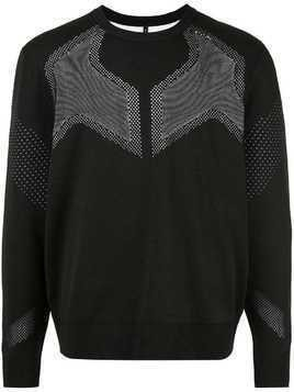 Blackbarrett mesh details jumper