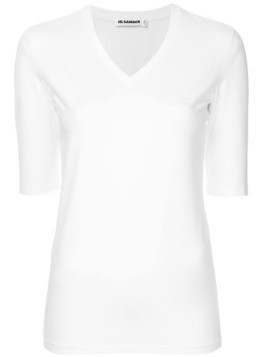Jil Sander V-neck top - White