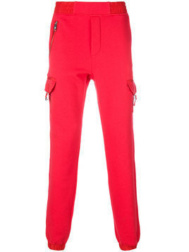 Versus - pocketed track pants - Herren - Cotton/Polyester - M - Red