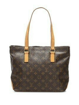 Louis Vuitton 2001 pre-owned monogram Cabas Piano tote bag - Brown