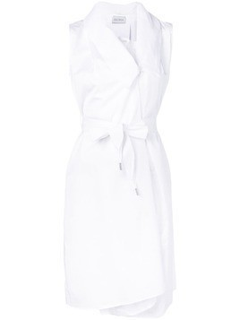 Balossa White Shirt long gilet blouse