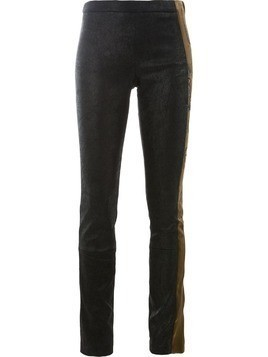 Haider Ackermann embroidered sides trousers - Black