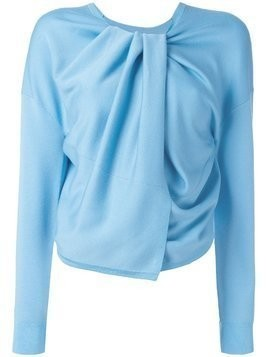 Theory draped jumper - Blue
