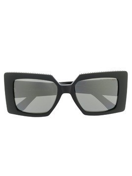 Cutler & Gross oversized square frame sunglasses - Black
