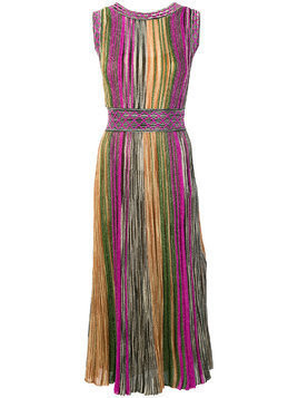Missoni fitted round neck dress - Multicolour