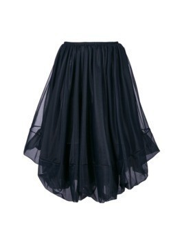 Jil Sander puffball skirt - Blue