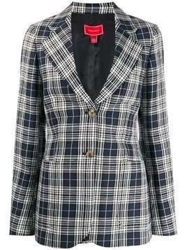 Hilfiger Collection plaid jacket - Blue