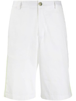 Low Brand contrast trim shorts - White