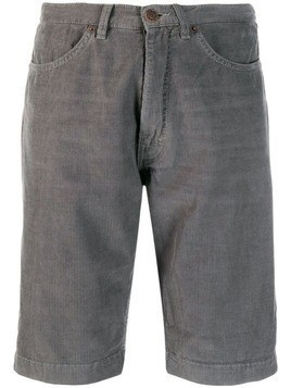 6397 corduroy knee-length shorts - Grey