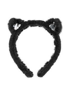 Karl Lagerfeld Kids cat ears headband - Black