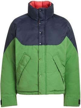 Burberry Tri-tone Down-filled Reversible Jacket - Green