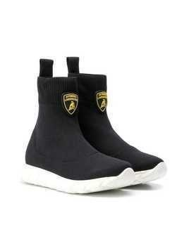 Bumper Lamborghini sock sneakers - Black