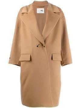 Manzoni 24 oversized trench coat - Neutrals