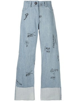 Barbara Bologna high waist jeans - Blue