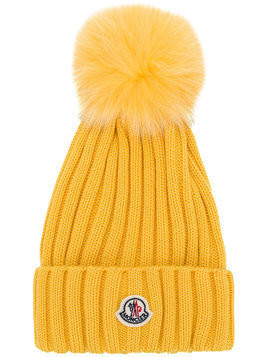 Moncler MONCLER 002190003510 127 Leather/Fur/Exotic Skins->Leather - Yellow & Orange