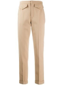 Chloé high-waisted skinny trousers - Neutrals