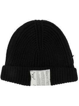 A-Cold-Wall* ribbed knitted hat - Black