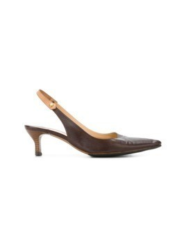 Louis Vuitton Vintage slingback pumps - Brown