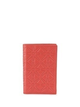Comme Des Garçons Play bi-fold card holder - ORANGE