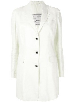 Giuliva Heritage Collection longline soft blazer - White