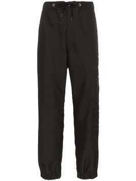 Moncler drawstring track trousers - Black
