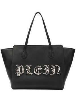 Philipp Plein large logo tote - Black