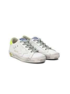 Golden Goose Kids Superstar low-top sneakers - White