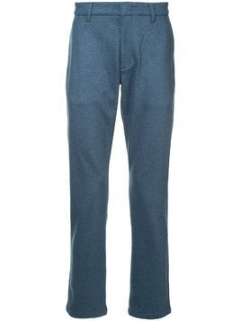 Attachment straight-leg trousers - Blue