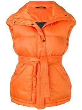 Perfect Moment oversized gilet - ORANGE