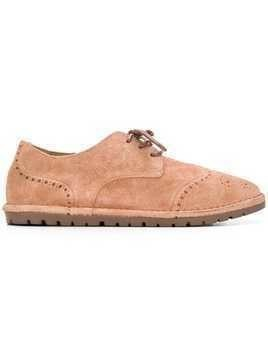 Marsèll ridged sole brogues - Pink