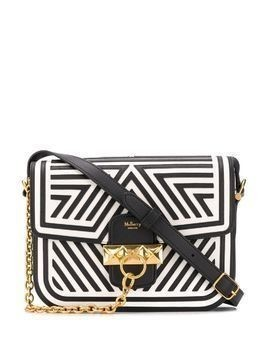 Mulberry Keeley patchwork-design satchel - Black