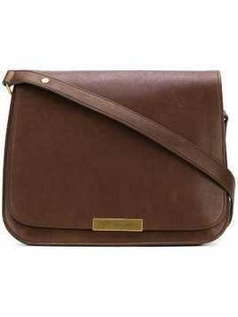 Saint Laurent saddle shoulder bag - Brown