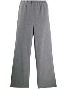 Mm6 Maison Margiela wide-leg trousers - Grey