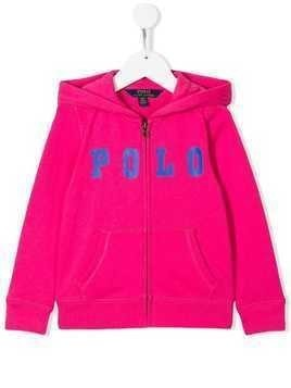 Ralph Lauren Kids Polo bomber jacket - Pink