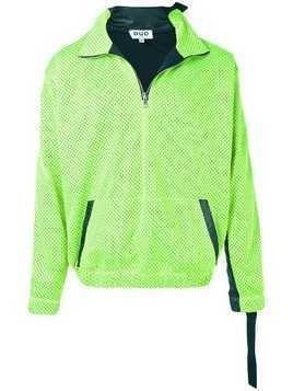 Duo citron and black jogging jacket - Green