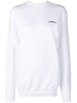 Fiorucci long sleeved jumper - White