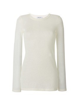 Dondup classic fitted sweater - White