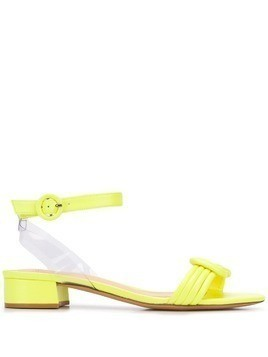 Alexandre Birman block heel sandals - Yellow