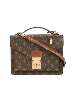Louis Vuitton Vintage Monceau 26 2-way Business Handbag - Brown