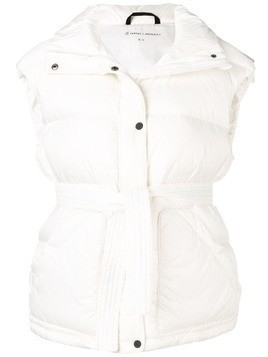 Perfect Moment oversized gilet - White